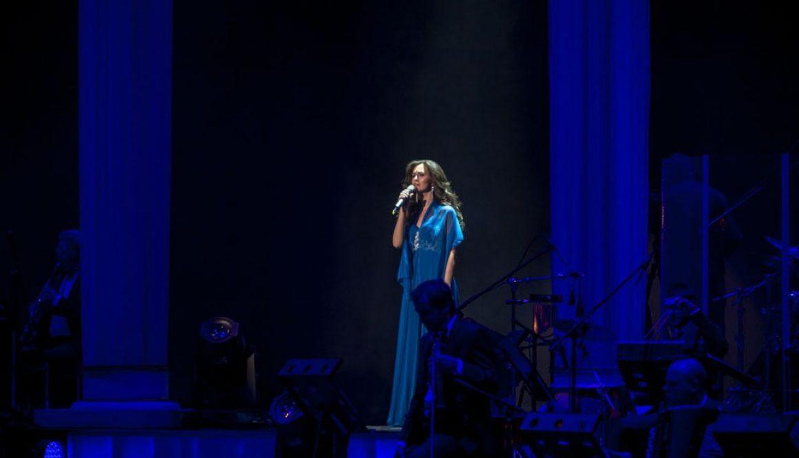 Алёна Биккулова приняла участие в концертах, посвященных 75-ой годовщине полного освобождения Ленинграда от фашистской блокады
