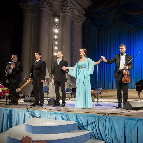 Пасхальный концерт в Смольном соборе